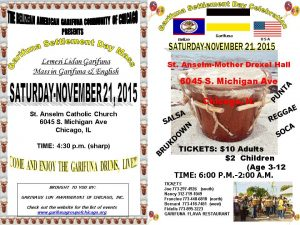 Garifuna Settlement Day 2015
