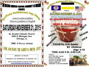 Garifuna Settlement Day 2015