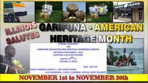 GARIFUNA HERITAGE MONTH CELEBRATION 2015